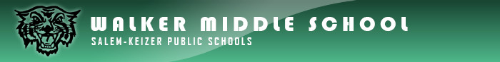 Walker Middle School Retina Logo